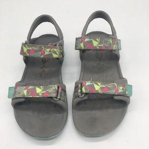 Merrell Hydro Drift Gray Aqua Sandals